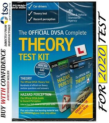 DSA Car Theory Test Kit PC MAC DVD-ROM & DVD Theory Test Hazard Perception *KiT