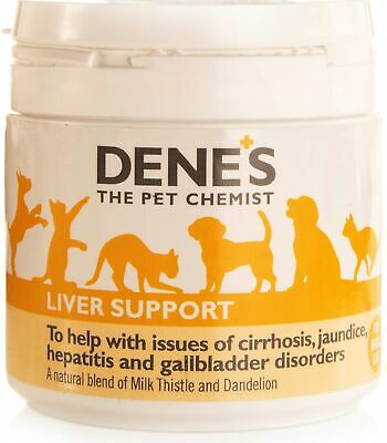 Denes Milk Thistle+ Powder 50g Dog Cat Natural Liver Support Cleanse