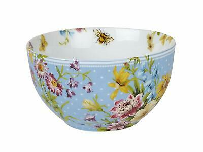 KATIE ALICE English Garden SHABBY CHIC Porcelain CEREAL BOWL