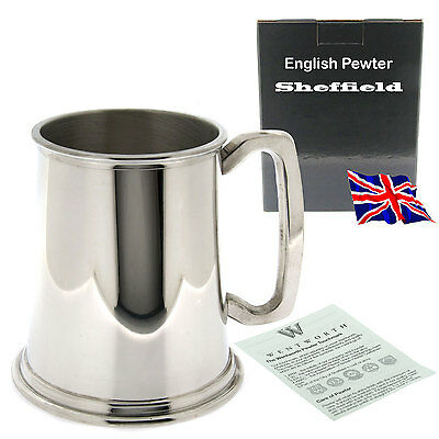Personalised Engraved Pewter Tankard Boxed, Wedding, Birthday, Anniversary Gift