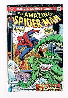 Amazing Spider-Man # 146 Strikes the Scorpion grade 9.0 movie scarce hot book !!