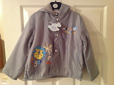 BNWT Boys Grey Lightweight Jacket Choose Size Clothes Children Coat 2 & 6 Years