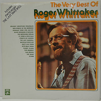 """Roger Whittaker, The Very Best Of Roger Whittaker, 1976, 12"""" LP Record, (L1)"""