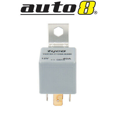Auto Relay Tyco Genuine quality 12V 40Amp N/O 5 Pin (driving lights ect)Resistor