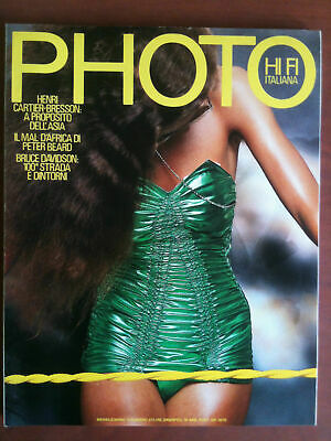 Photo HI FI Italiana n° 57 Marzo 1980 Cover Christian Coigny - E9842