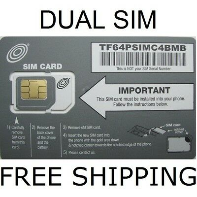 Sim Card Allows Unlimited At&T Service $35 @ Mo By Net10