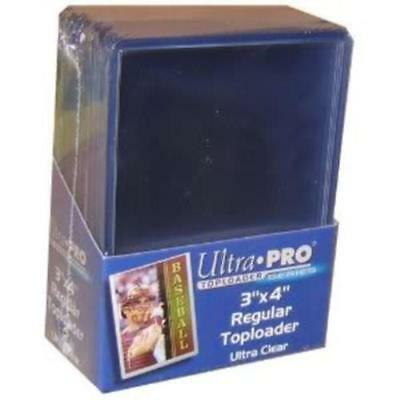 Ultra Pro Top Loader 25 Pack Rigid Card Protector Pokemon Yugioh Sports MTG TCG