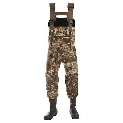 Duck Commander 4.0mm 600 Gram Chest Waders DAT-65209 Mens Stout Wader Size 9