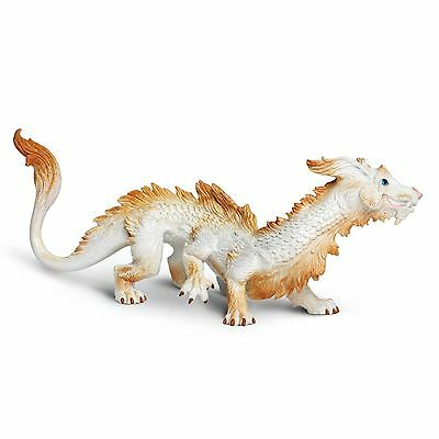 Good Luck Dragon Museum Quality Safari PVC Figurine Hand Painted S10122