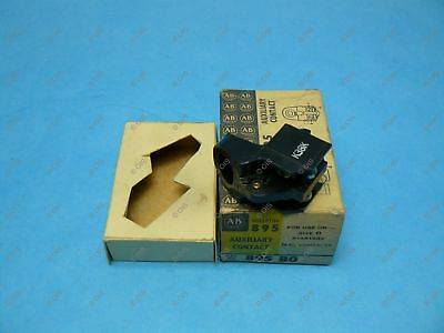 Allen Bradley 895-B0 Auxiliary Contact NEMA 0 Starter 30/60 A Disconnect N.C.
