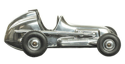 "Hornet 1930s Tether Car Model 9.75"" Aluminum Replica Racing Spindizzy New"