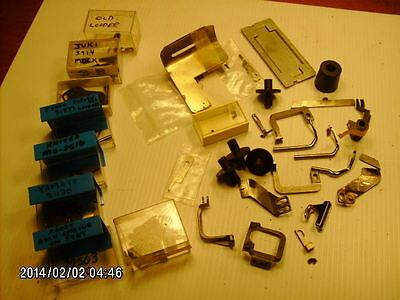 lot of misc parts for JUKI mock safety & Yamato top feed sewing machine