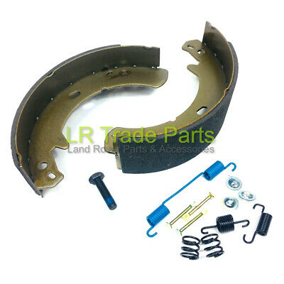 Land Rover Discovery 2 Handbrake Transmission Brake Shoes (1998-2004) Icw500010