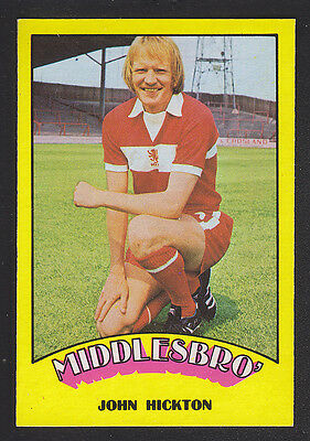 A&BC - Footballers (Red Back) 1974 - # 88 John Hickton - Middlesbrough