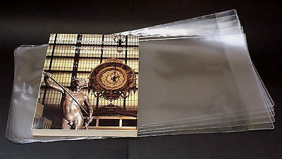 5X PROTECTIVE ADJUSTABLE PAPERBACK BOOKS COVERS clear plastic (SIZE 250MM)