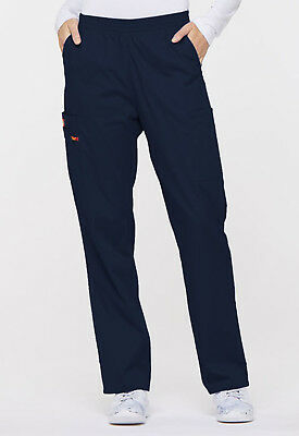 Navy Blue Dickies Scrubs EDS Signature Natural Rise Pull On Pants 86106 NVWZ