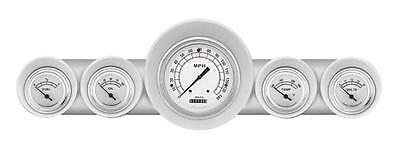 Classic Instruments 59-60 Chevy Impala El Camino Package w/ Classic White Gauges