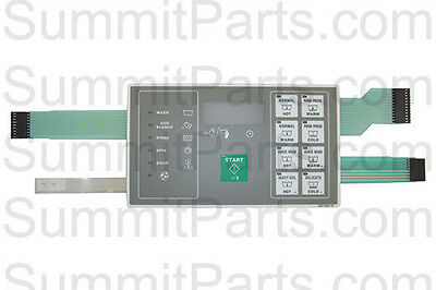 Touchpad Keypad For Huebsch Washer - F0231582-07P