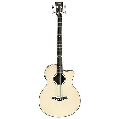 Artist ABJ50CEQ Acoustic Electric Bass with Cutaway and EQ - Gloss Natural - New