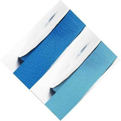 "Grosgrain Ribbon 1.5"" /38mm Wide 5 Yards ,Lot Blue s #303 to #350"