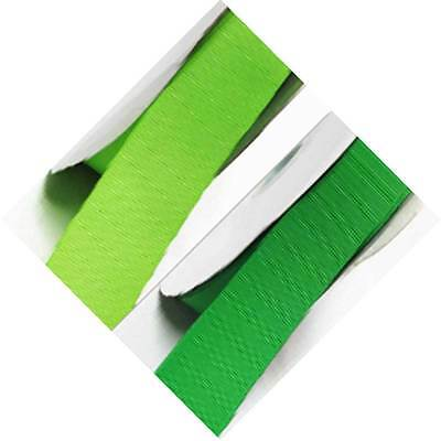 "Grosgrain Ribbon 1.5"" / 38mm Wide for Wedding 5 Yards, Lime to green"