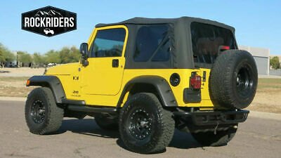 1997 2006 Jeep Wrangler Soft Top Replacement Canvas U0026 Tinted Rear Windows  SALE!