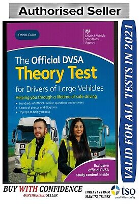 UK Official DSA Theory Test Book for Drivers of Large Vehicles LGV PCV 2019 *LGV