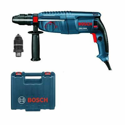 bosch bohrhammer gbh 2600 professional mit wechselbohrfutter sds plus im koffer eur 154 00. Black Bedroom Furniture Sets. Home Design Ideas