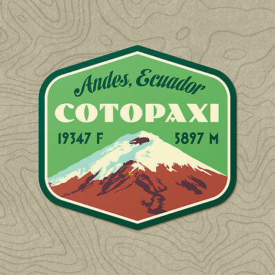 Cotopaxi Decal Sticker