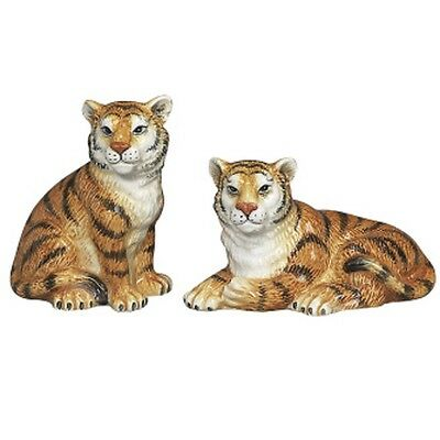 ANDREA SADEK Tigers Salt Pepper Shakers #61289 NEW SHIP DISCOUNTS