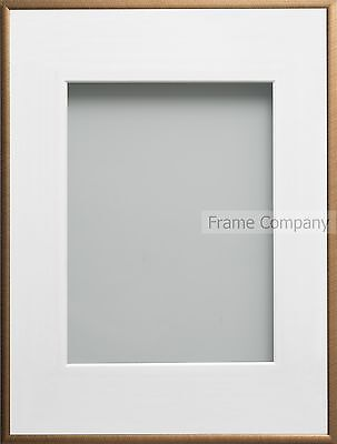 Frame Company Cranbrook Range Bronze or Steel Picture Photo  Frames With Mount