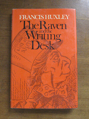THE RAVEN AND WRITING DESK by  Huxley - 1st HCDJ 1976 Alice wonderland Carroll
