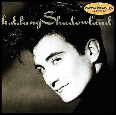 K.D. LANG - SHADOWLAND : THE OWEN BRADLEY SESSIONS CD ~ COUNTRY KD 80's *NEW*