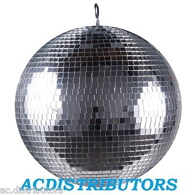 "Mirror Ball NEW 12"" (30cm) Discoball + BONUS Battery motor ""Great Bargain"""