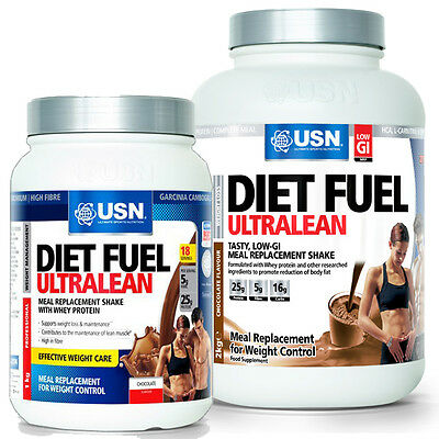 USN Diet Fuel Meal Replacement Weight Loss Shake 1kg/2kg