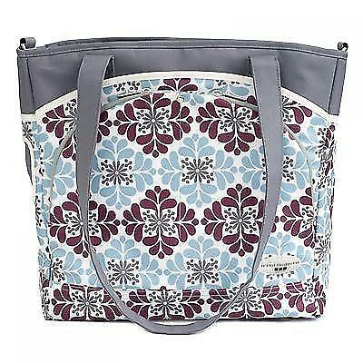 JJ Cole Mode Diaper Tote Bag - Mulberry Patch NEW