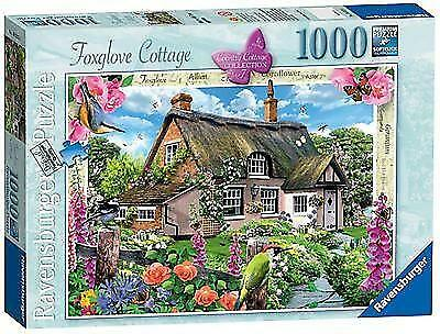 Ravensburger Country Cottage Collection Foxglove Cottage Puzzle (1000 Pieces)