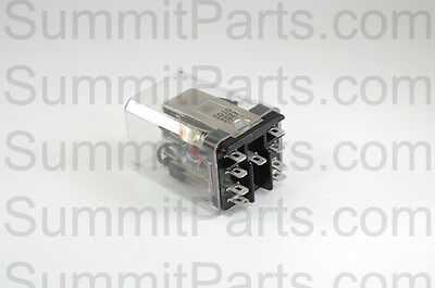 RELAY-LATCH DPDT120V 1-COIL FOR MILNOR WASHER 09CLC-C37