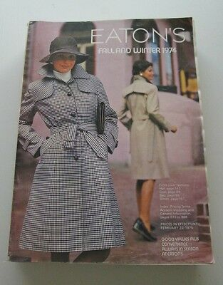 1974 Eaton's Catalog-Canadian Fall & Winter Catalogue