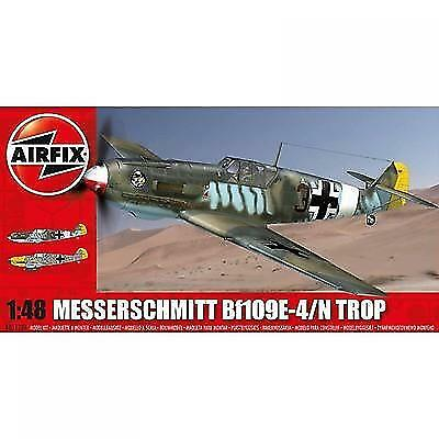 Airfix Messerschmitt Bf109e- Tropical - 1:48 Scale Aviation Kit NEW