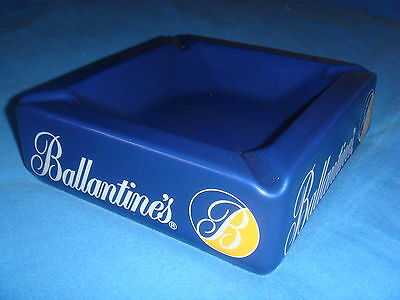 SUPERBE CENDRIER BALLANTINE'S EX ETAT collection bistrot bar WHISKY ashtray