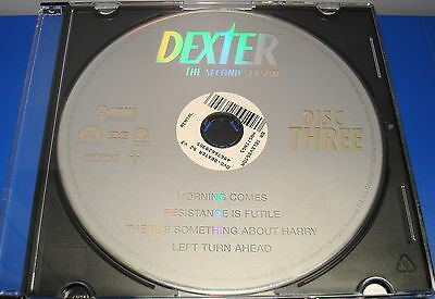Dexter Second Season 2 Disc 3 Only Replacement Disc