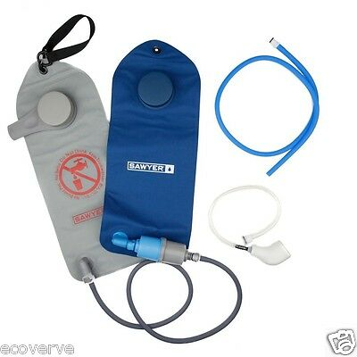 [SP162] Sawyer 2 Liter Complete Water Filter / Treatment System Hydration Pack
