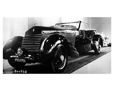 1937 Rolls Royce Automobile Photo Poster zuc5693