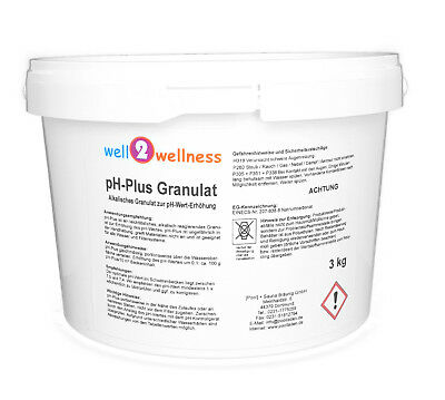 pH Plus Granulat / pH Heber Granulat / ph+ Pulver im 3,0 kg Eimer