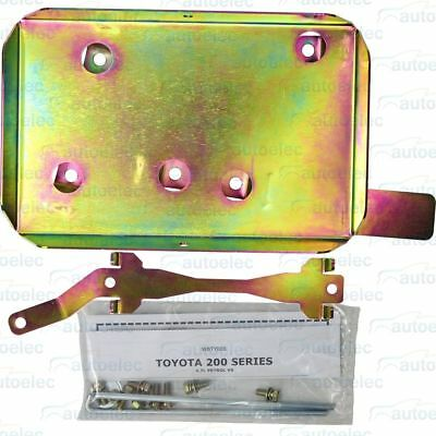 Dual Battery Tray System Toyota Landcruiser 200 Series Wbty006 Trade Pack