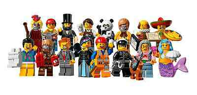 Lego New M Series The Movie Minifigures 71004 All 16 Available You Pick Figs