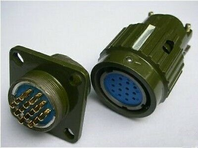 Military 14-Pin High Voltage Circular Connector,F14P