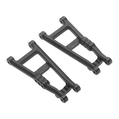 NEW RPM Rear A-Arms Black Electric Rustler/Stampede (2) 80182