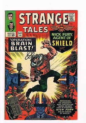 Strange Tales # 141  Nick Fury  Doctor Strange grade 8.5 scarce hot book !!